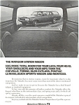 Click here to enlarge image and see more about item ad0190: American Motors Matador Station Wagon Ad