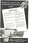 Click here to enlarge image and see more about item ad0195: Association of American Railroads WWII Ad