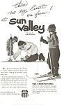 Click here to enlarge image and see more about item ad0197: Union Pacific Railroad Sun Valley Idaho Ad