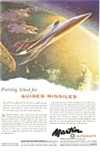 Click here to enlarge image and see more about item ad0201: Martin Aircraft Guided Missles Ad ad0201