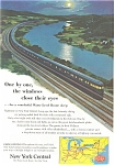 1953 New York Central RR  Ad ad0209