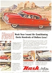 Click here to enlarge image and see more about item ad0216: 1954 Nash Airflytes Ad