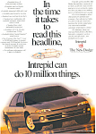 Click here to enlarge image and see more about item ad0226: 1995 Dodge Intrepid Ad ad0226