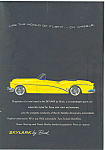 Click here to enlarge image and see more about item ad0231: 1953 Buick Skylark Convertible Ad