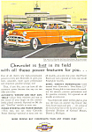 Click here to enlarge image and see more about item ad0234: 1954 Chevrolet  Bel Air 4 Door Sedan Ad ad0234