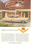 Click here to enlarge image and see more about item ad0236: 1952 Cadillac 4 Door Sedan Ad ad0236