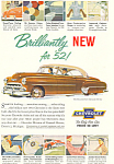 Click here to enlarge image and see more about item ad0238: 1952 Chevrolet  Bel Air 2 Door Hardtop Ad ad0238