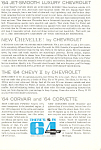 1964 Chevrolet Full Line  Ad