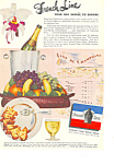 Click here to enlarge image and see more about item ad0246: French Line Ad