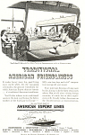 American Export Lines American Friendliness Ad ad0250