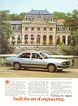 Click here to enlarge image and see more about item ad0258: 1982 Audi Ad ad0258