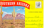 Click here to enlarge image and see more about item sf0263: Southern Arizona Souvenir Folder sf0263 1949