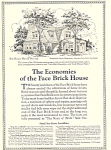 Click here to enlarge image and see more about item ad0264: Face Brick Association Ad ad0264