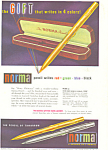 Click here to enlarge image and see more about item ad0284: Norma Pencil Christmas  Ad ad0284