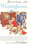 Click here to enlarge image and see more about item ad0286: Westinghouse Old Time Radio  Ad