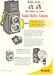 Click here to enlarge image and see more about item ad0288: Kodak Reflex Camera  Ad ad0288