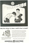 Click here to enlarge image and see more about item ad0290: General Electric Television Ad