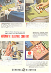 Click here to enlarge image and see more about item ad0291: General Electric Electric Blanket Ad