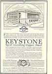 Click here to enlarge image and see more about item ad0295: Keystone Rust Resisting Copper Steel Ad ad0295