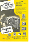 Click here to enlarge image and see more about item ad0296: Motorola Television Ad