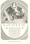 Click here to enlarge image and see more about item ad0316: LaFayette Car Ad Mar 1921