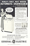 General Electric Automatic  Dishwasher Ad