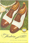 Click here to enlarge image and see more about item ad0327: Florsheim Brown and Whites  Ad ad0327
