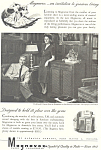 Click here to enlarge image and see more about item ad0329: Magnavox Radio Phonograph  Ad Ronald Coleman