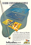 Click here to enlarge image and see more about item ad0330: Hallicrafters Radio Ad