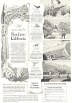 Click here to enlarge image and see more about item ad0340: Southern California Tourism Ad ad0340