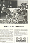 Click here to enlarge image and see more about item ad0345: National Dairy Products Movie Ad
