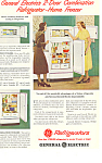 Click here to enlarge image and see more about item ad0349: General Electric Refrigerators Ad