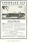Click here to enlarge image and see more about item ad0355: Chandler Six Car Ad ad0355