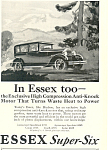 Click here to enlarge image and see more about item ad0356: Essex Super Six Car Ad