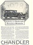 Click here to enlarge image and see more about item ad0357: Chandler Car Ad