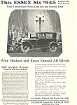 Click here to enlarge image and see more about item ad0358: Essex Six Car Ad ad0358