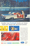 Click here to enlarge image and see more about item ad0361: Ford Built Cars 1963 Ad ad0361