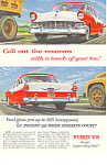 Click here to enlarge image and see more about item ad0366: Ford V-8 1956 Ad ad0366