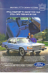 Click here to enlarge image and see more about item ad0368: Ford Crown Victoria 1983 Ad ad0368