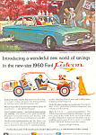 Click here to enlarge image and see more about item ad0369: Ford Falcon 1960 Ad ad0369