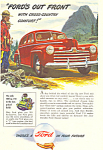 Click here to enlarge image and see more about item ad0372: Ford 1947 Ad