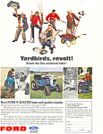Click here to enlarge image and see more about item ad0374: Ford Lawn and Garden Tractor  Ad