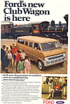 Ford Club Wagon  Ad