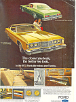 Click here to enlarge image and see more about item ad0382: Ford LTD Brougham 2 Door Hardtop 1973  Ad ad0382