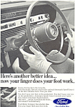 Click here to enlarge image and see more about item ad0386: Ford Cruise Control Ad ad0386