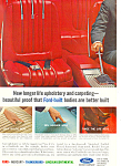 Click here to enlarge image and see more about item ad0388: Ford Upholstery and Carpeting Ad ad0388
