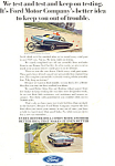 Click here to enlarge image and see more about item ad0390: Ford Testing Ad ad0390