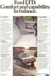 Click here to enlarge image and see more about item ad0401: Ford LTD  Ad ad0401