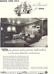 United States Line New Steamers   Ad ad0404