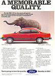 Click here to enlarge image and see more about item ad0405: Mercury Topaz 1984  Ad
